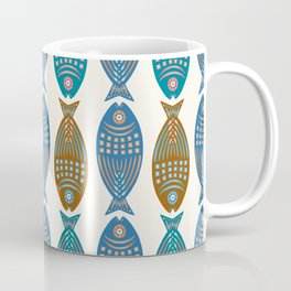 3 Fish | Multi Coffee Mug