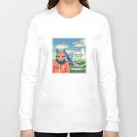 starfox Long Sleeve T-shirts featuring Starfox - F*CK YOU PEPPY! by John Medbury (LAZY J Studios)