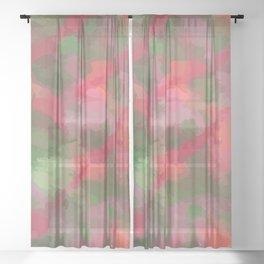 Garden Patch Sheer Curtain
