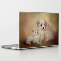 best friends Laptop & iPad Skins featuring Best Friends by Jai Johnson