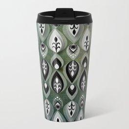 Pierrot II/Memoir Pattern Metal Travel Mug