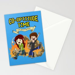 Co-Optitude Time Stationery Cards