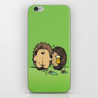 wasted rita iPhone & iPod Skins featuring Wasted by mangulica illustrations