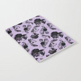 Beta Fish Lavender Notebook
