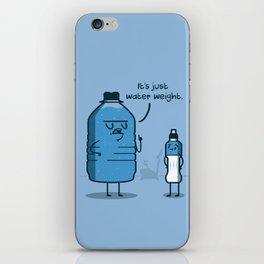 Water Weight iPhone Skin