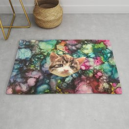 Cat Making :/ Face Rug