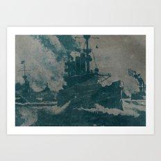 Convoy Art Print