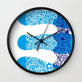 Water Cell Wall Clock