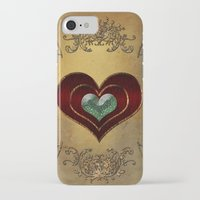 hearts iPhone & iPod Cases featuring Hearts by nicky2342