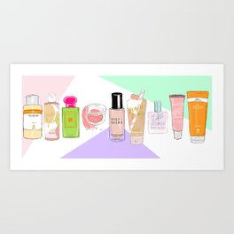 GRWM (get ready with me) Art Print