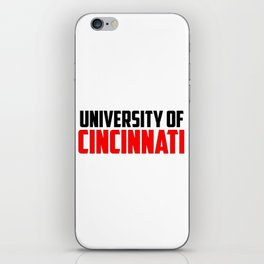 U of Cincinnati, Ohio iPhone Skin