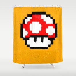 game over Shower Curtain