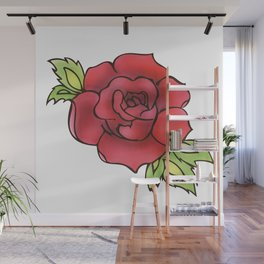 The rose Wall Mural