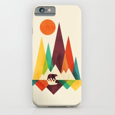 Bear In Whimsical Wild Slim Case iPhone 6