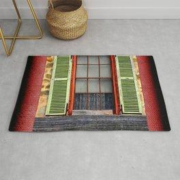 Window Shutters Rug
