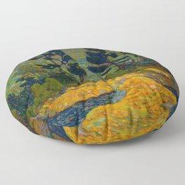 Tom Thomson Byng Inlet Georgian Bay winter 1914-1915 Canadian Landscape Artist Floor Pillow
