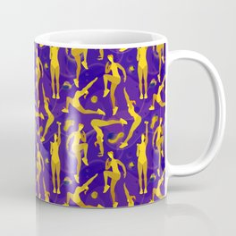 Fitness yellow glow Coffee Mug