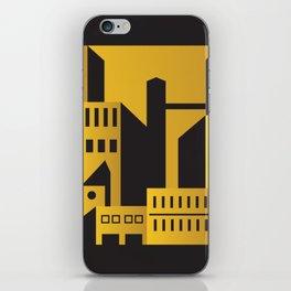 Golden city art deco iPhone Skin