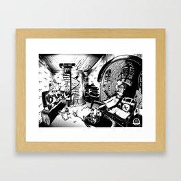 Troublemaker - oldwork Framed Art Print