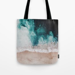 Ocean (Drone Photography) Tote Bag