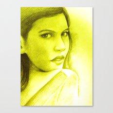 FACE TO FACE Canvas Print