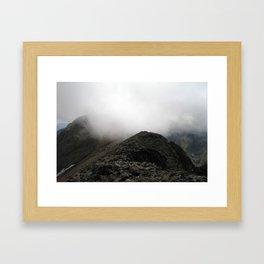 Challenger Point Framed Art Print