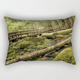 McKenzie River Trail No 1 Rectangular Pillow