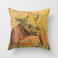 Valeu! Throw Pillow