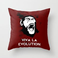 VIVA LA EVOLUTION Throw Pillow