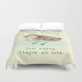 Ugly Duckling Duvet Cover
