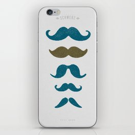 Movember iPhone Skin