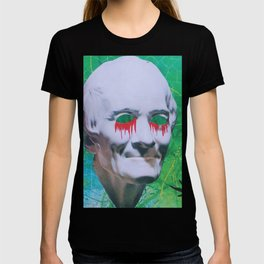 I open my eyes and all I see is darkness / VAPORWAVE T-shirt