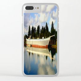 Rowitta Clear iPhone Case