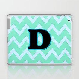 Letter D Laptop & iPad Skin