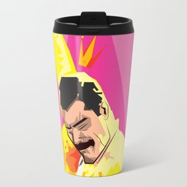 Freddie from Queen comic book cover swag! Mercury Travel Mug