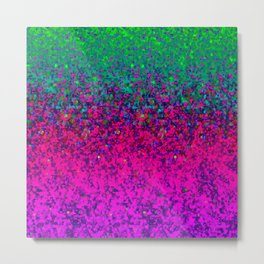 Glitter Dust Background G177 Metal Print