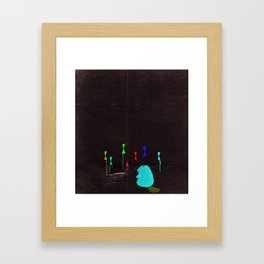 Color Founder Framed Art Print