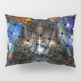 Archive Portal Pattern Weave Pillow Sham