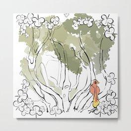 L'anima dell'albero 3 Metal Print