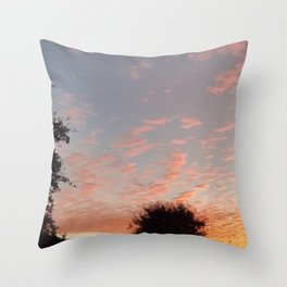 Texas Hill Country Sky - Sunrise 3 Throw Pillow