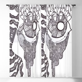 Eye and Fingers Blackout Curtain
