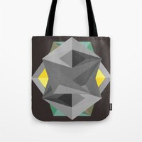 shield Tote Bags featuring Shield by Tracy