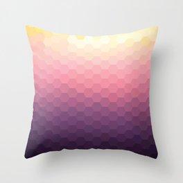 Sundown Honey Throw Pillow