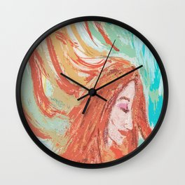 Firey Wall Clock