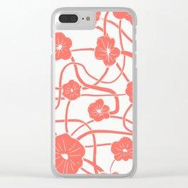 Mai Tai in Living Coral Clear iPhone Case