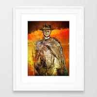 clint barton Framed Art Prints featuring Clint by Rabassa