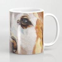 gemma Mugs featuring Gemma the Golden Retriever by Barking Dog Creations Studio