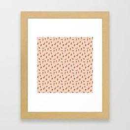 Red Cuties Framed Art Print