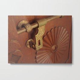 the lock Metal Print