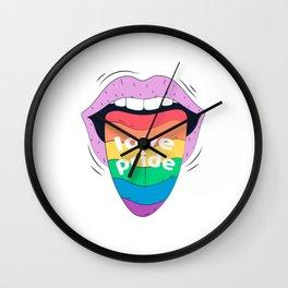 Love, Proud! Wall Clock